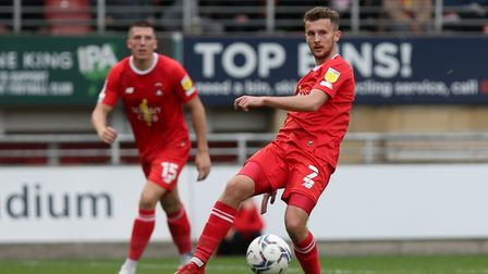 Tom James of Leyton Orient during Leyton Orient vs Mansfield Town, Sky Bet EFL League 2 Football at