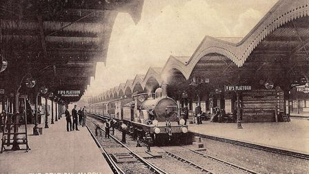 The glorious days of steam at March station