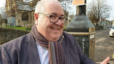 Man in the hot seat: Cllr Mark Goldsack whose committee has oversight of This Land Ltd.