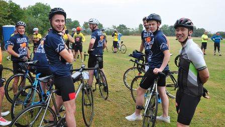Preparing for the Beccles Cycle for Life charity ride