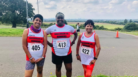 Dagenham 88 Runners out at racing events
