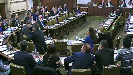 A previous debate in Westminster Hall where today's debate on social mobility will happen today. PA