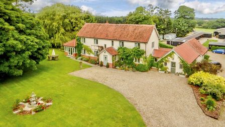 Farmhouse in Stow Bedon, which borders Thetford Forest in Norfolk, is for sale for £1.45m