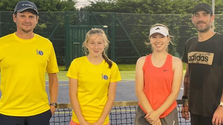 10is Academy's mixed 2nds before beating Cambridge Tennis Academy