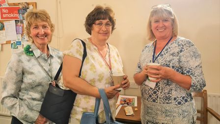 Members of the Ely City Women's Institute group met face to face for the first time in 18 months.