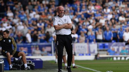 Ipswich Manager Paul Cook at Portman Road