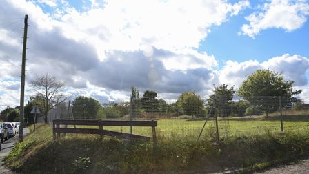 The former site of the now-demolished Worlingham Primary School where theWorlingham Community Facility is to be built.