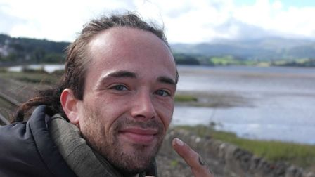 Justin Wakefield cycled the 250 miles from Fakenham to Snowdonia for mental health charity Mind