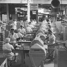 Workers at Caleys chocolate factory Norwich