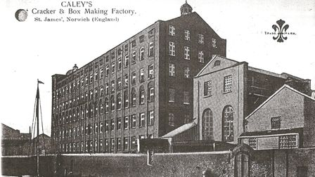 Caley's cracker and box making factory at St James Mill.