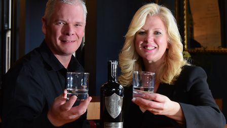 The first batch of Wild Knight Vodka will go on sale in February. PHOTO BY SIMON FINLAY