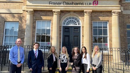 Six new apprentices will be starting their careers at Fraser Dawbarns Solicitors.