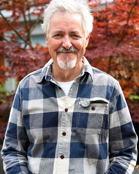 Griff Rhys Jones at EAst Anglia's Children Hospice Treehouse in Ipswich PICTURE: CHARLOTTE BOND