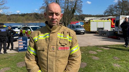 Greg Preston, Norfolk Fire and Rescue Service's head of prevention and protection.