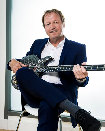 Mark King will be hosting the Level 42 birthday party at Ipswich Regent on October 31