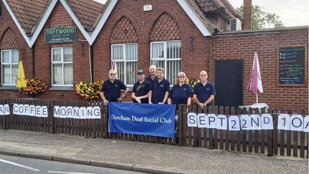 The newly-formed Dereham Deaf Club met for the first time at Toftwood Social Club