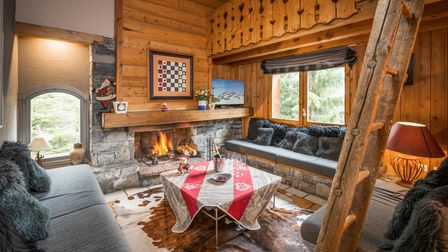 Cosy up in the snug after a day on the slopes