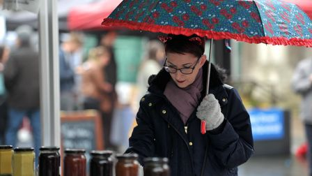 Ipswich's Farmers' Market is held on the first Sunday of every month