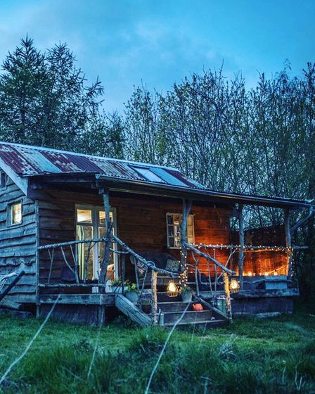 The autumnal events take place at Albion Nights, a luxury cabin retreat in a wildflower meadow, in Woodton, Norfolk.