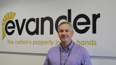 Rick Francis, chief executive of Evander Glazing and Locks. Picture: Submitted