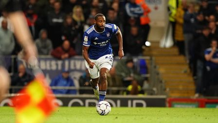 Janoi Donacien in action against Doncaster Rovers.