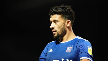 Macauley Bonne pictured during the clash with Doncaster Rovers.