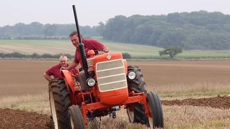 Alan Foster at the annual East Anglian ploughing match