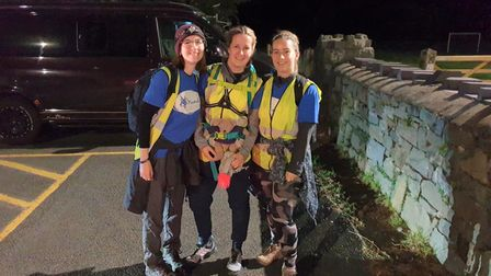 Ely officer, PC Lucy Holderness climbed Mount Snowdon overnight to raise funds for mental health charity, MIND.