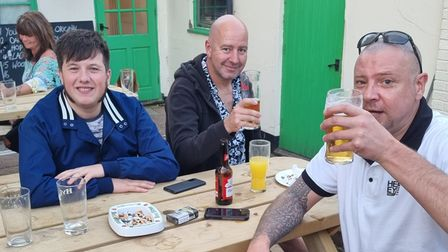 The beer and blues festival at The Royal Standard in Dereham