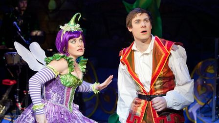 Jack and the Beanstalk at the New Wolsey Theatre in 2010