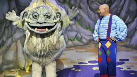 Mike McClean returns to the Ipswich Regent for his highly anticipated annual pantomime performances