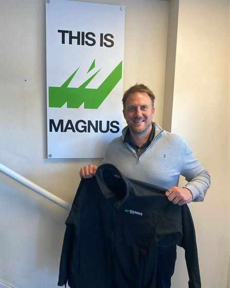 Olly Magnus, chief executive of Magnus Group Ltd, a haulage, freight forwarding and transport compan