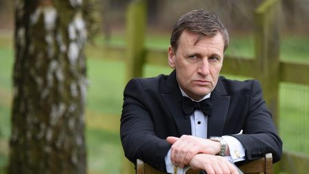 Steve Wright, a Daniel Craig 007 lookalike, who has had all his appearances cancelled due to the lat