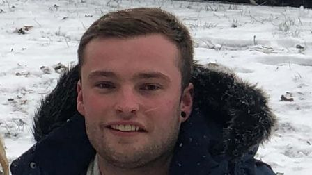 A 25-year-old man has died after the car he was in collided with a tree