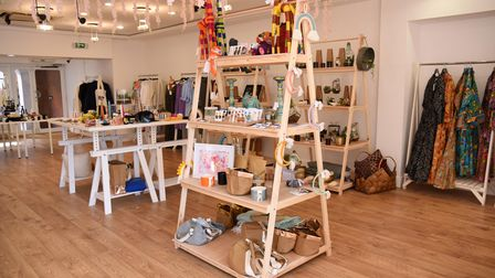The Cactus Club is a new pop up shop owned by Emily Hicks, located in the Woodbridge Thoroughfare in