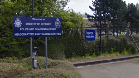Ministry of Defence Police headquarters in Wethersfield, Essex