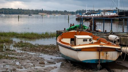 The River Orwell at Pin Mill