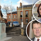 Councillors Jane James and Mark Taylor had a heated exchange at a Tuesday meeting.