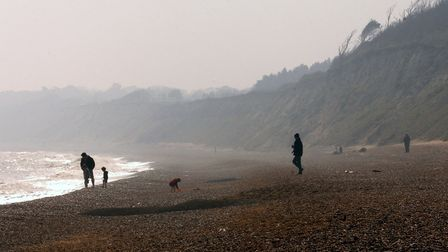 Dunwich beach is one of the county's most haunted locations