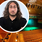 Comedian Ross Noble who played at The Apex in 2000