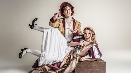 The cast ofSh!t-faced Shakespeare, who are coming toThe Cresset Theatre in Peterborough onOctober 15.