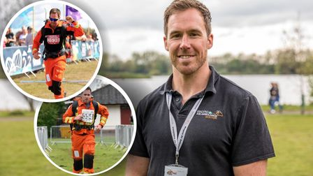 Dr Scott Castell, who works for Magpas Air Ambulance, is running London Marathon.
