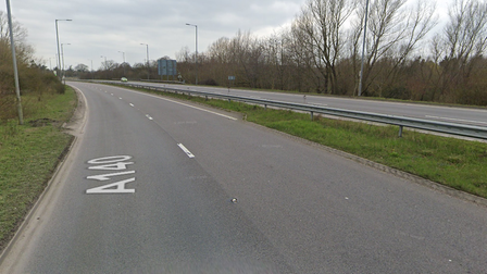 The works on the A140 Scole Bypass is set to take one night to complete.