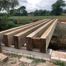 The River Gipping Trust is carrying out works at the bridge in Baylham.