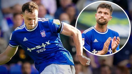 George Edmundson and Cameron Burgess are growing as a defensive pairing for Ipswich Town