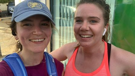 Christen Savage (right) and Kate Parry Crooke