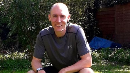 Physiotherapist, Ed Tuffnell from Cambridge is aiming to complete the equivalent of nearly two marathons in just one day.