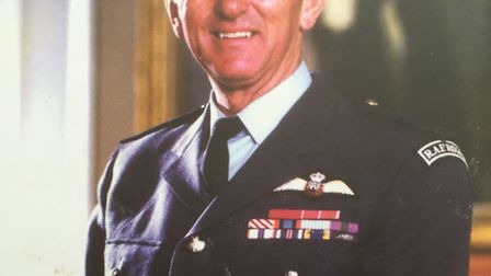 Air Vice Marshal John Howe. Picture: SUBMITTED