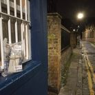 'Suspect package' taped to window in back street in Whitechapel... but just a bookon Jack the Ripper