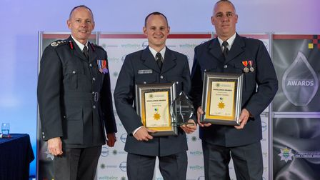 Cambs fire and rescue celebrated the commitment, dedication and professionalism of staff